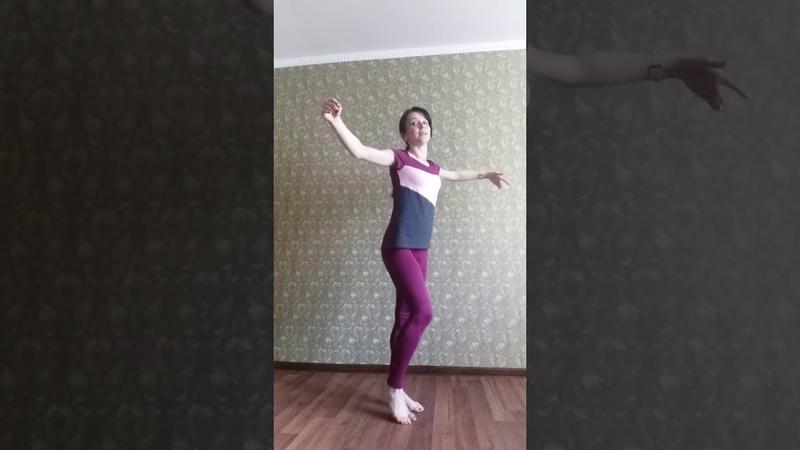 Клуб села Бирюки Разучивание танца Tango Experimental Связка 4