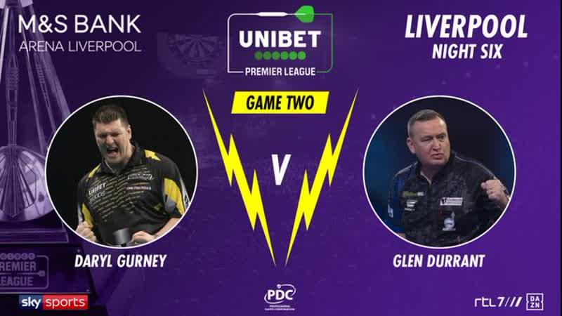 2020 Premier League Week 6 Gurney vs Durrant