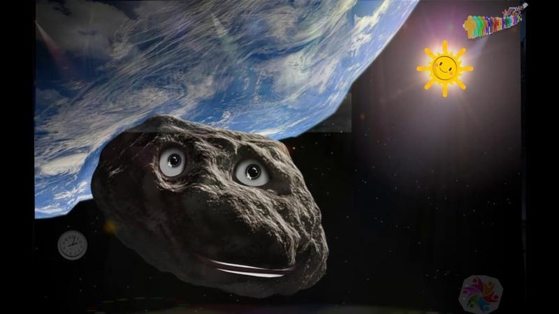2D photo Animation | Asteroid 163348 2002 NN4
