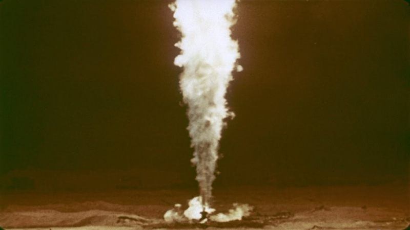 USSR DETONATED A NUCLEAR BOMB TO PUT OUT A BURNING GAS WELL