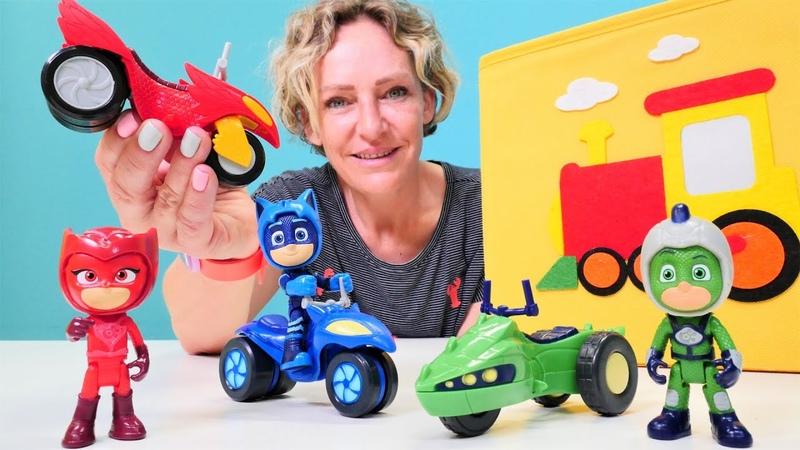 Nicoles Wunderbox Spielspaß mit den Pyjamahelden Wer hat das Catmobil geklaut