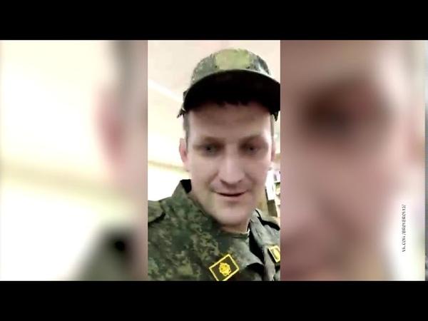 Военнослужащий-контрактник ходит на службу с 11-месячным сыном