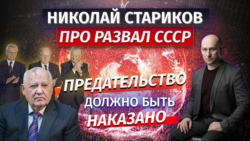 Николай Стариков про развал СССР предательство должно быть наказано