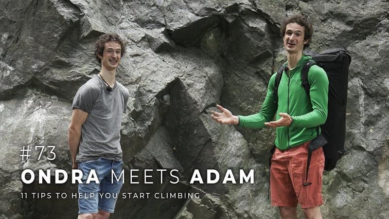 Adam Ondra 73 Ondra Meets Adam 11 Tips to Help You Start Climbing