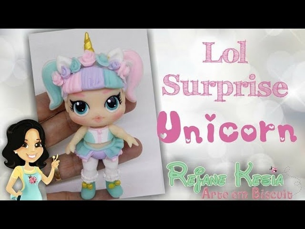 Lol Unicorn de Biscuit - DIY - Rejane Kesia