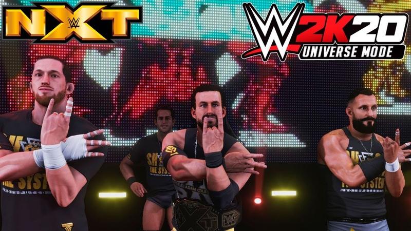 WWE 2K20 Universe NXT На Русском 9