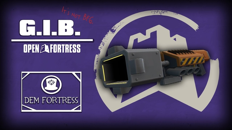 Dem Fortress - Giant Isotope Blaster (GIB)