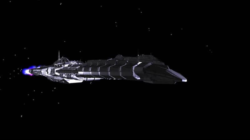Dreadnought test 3d animation