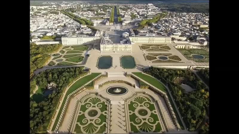 Планировка Версаля его место в садово парковом искусстве