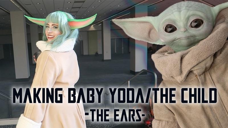 DIY Baby YodaThe Child EARS