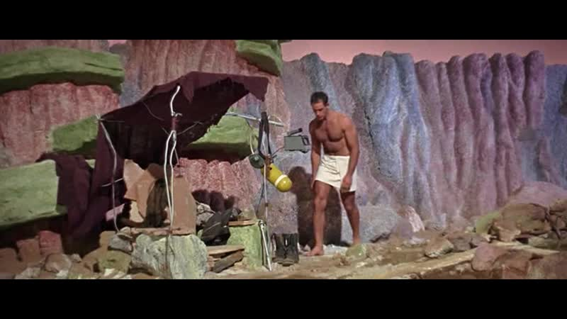 РОБИНЗОН КРУЗО НА МАРСЕ 1964 фантастика приключения Байрон Хэскин 720p