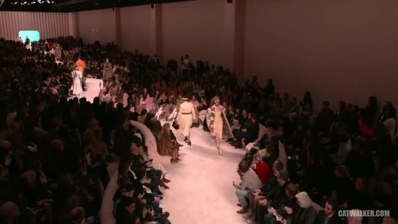 Fendi Fall⁄Winter 2020⁄21 Fashion Show Milan FW20