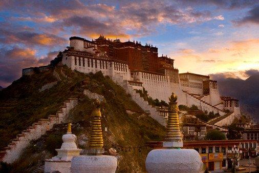 Эта страна называется Тибет