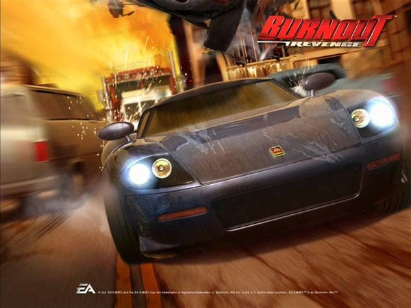 Burnout Revenge OST - Andy Hunter - Come On