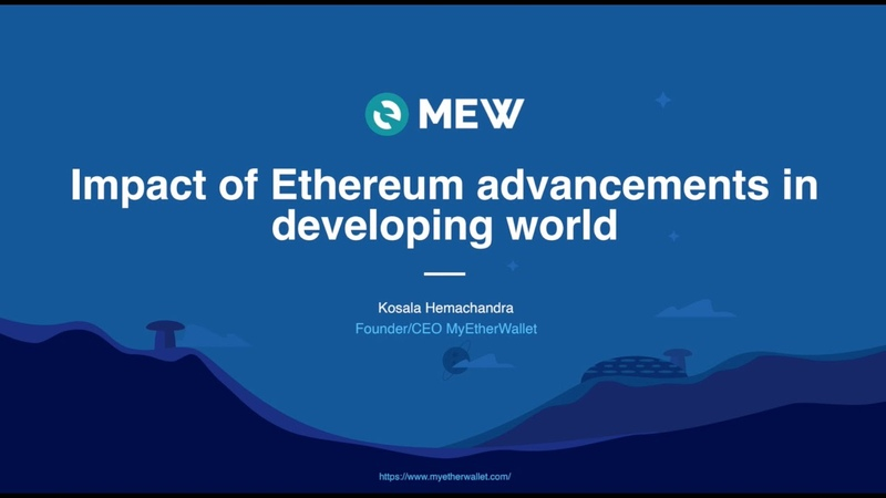 Impact of Ethereum Advancements in Developing World