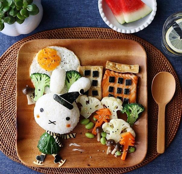 Креативные идеи для завтрака И все нехочухи будут довольны...