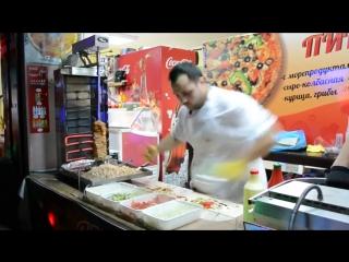 Анапа 2013. Как местный парень готовил шаурму