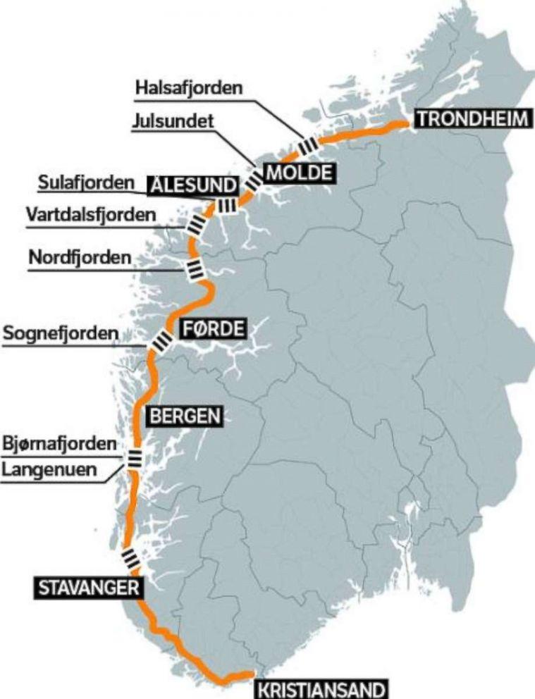 НАЧИНАЯ с 2014 года в СМИ стали появляться публикации о возможности строительства в Норвегии плавучего тоннеля – совершенно нового типа транспортных сооружений.