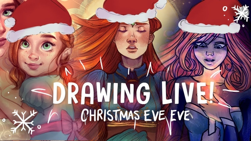 CHRISTMAS EVE EVE LIVESTREAM! w Canary Witch and Zoë Marriner