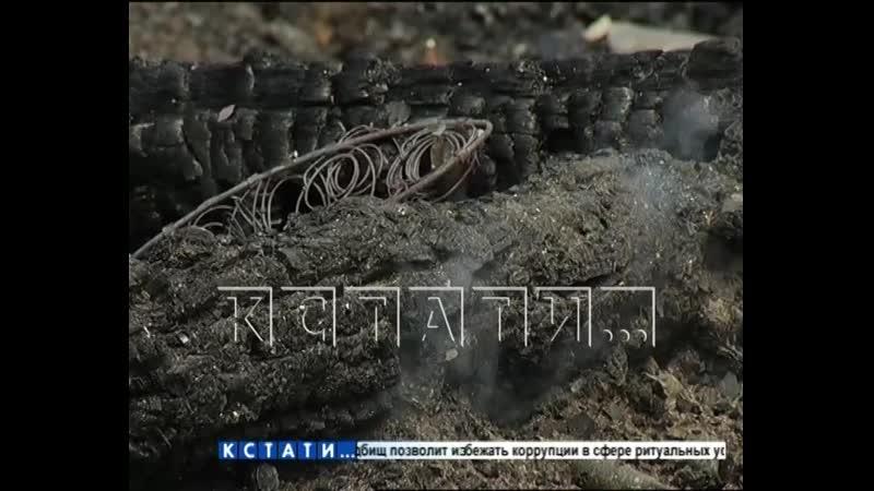 Садовод решивший сжечь мусор на участке погиб во время пожара