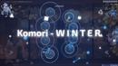 Osu! skin review Komori - W I N T E R (by DuyKhang-sama)