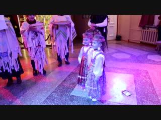 """""""Большие гастроли"""" Рыбинского театра кукол в Воркуте Ноябрь 2018 г"""