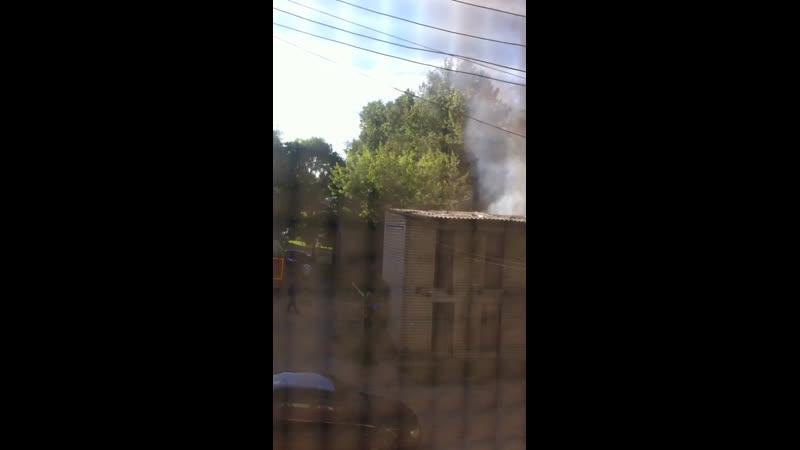 Пожар в Костроме