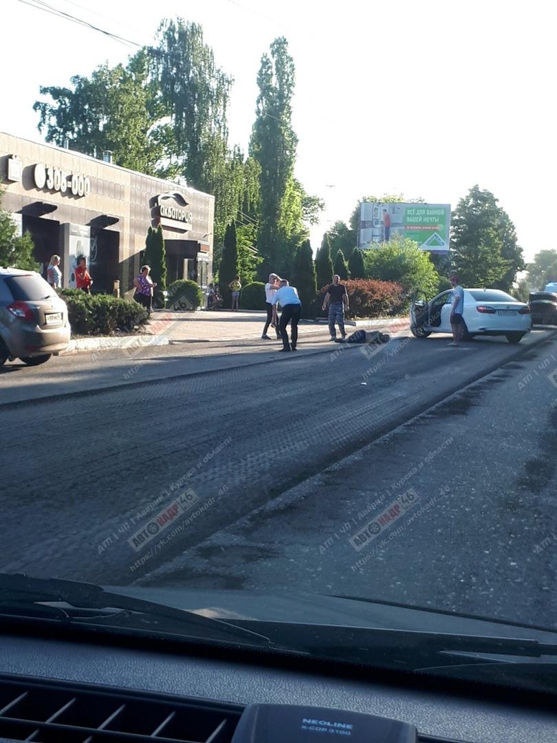 "В Курске на ""зебрах"" сбили двух пешеходов"