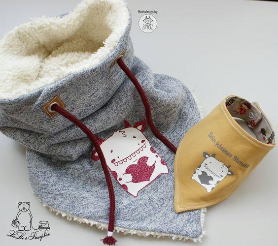 Шарф-снуд - идеи для шитья