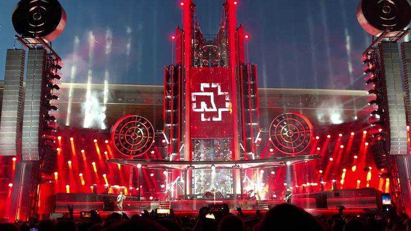Rammstein - Rammstein/Ich Will, Live @ Prague 16.7.2019