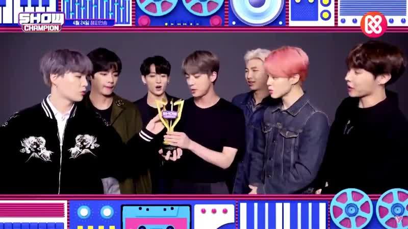 BTS Show Champion