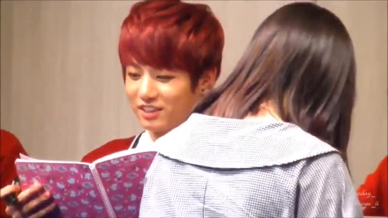 When an army gave jungkook a diary and he just proceeded to read it OUT LOUD so the army j