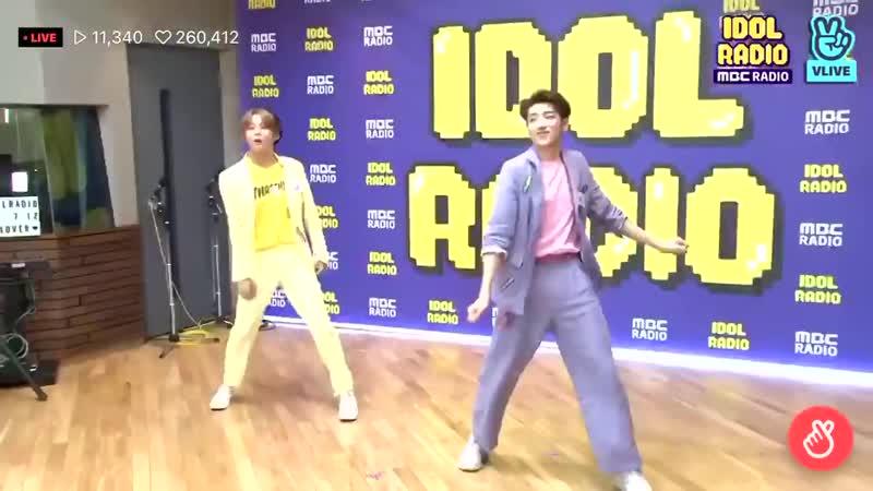190712 [Idol radio] Jaechan - BTS Boy with luv