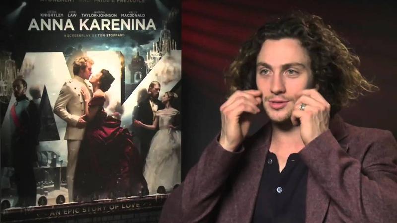 Aaron Taylor-Johnson Interview -- Anna Karenina   Empire Magazine