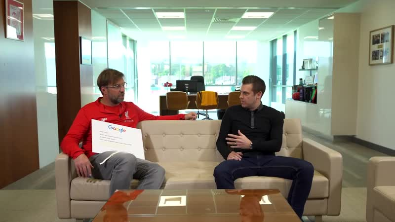 Jurgen Klopp Answers the Webs Most Searched Questions About Him