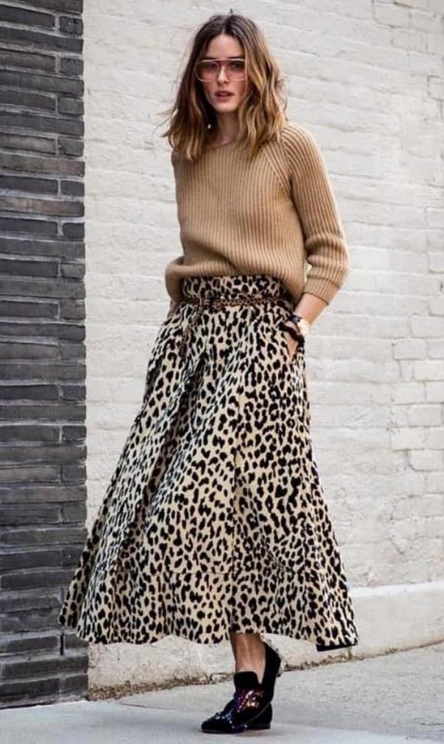 7e5f81c768d Как носить модные анималистические принты  10 образов street style