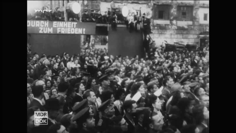 Калинка малинка в Берлине 1948 Kinder Kader Kommandeure