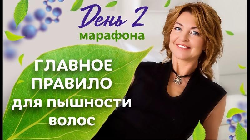 Главное правило для пышности волос, которые никто не рекламирует. 2 день марафона / Елена Бахтина