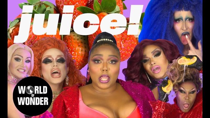 Lizzo - JUICE Music Video feat. RuPauls Drag Race Queens