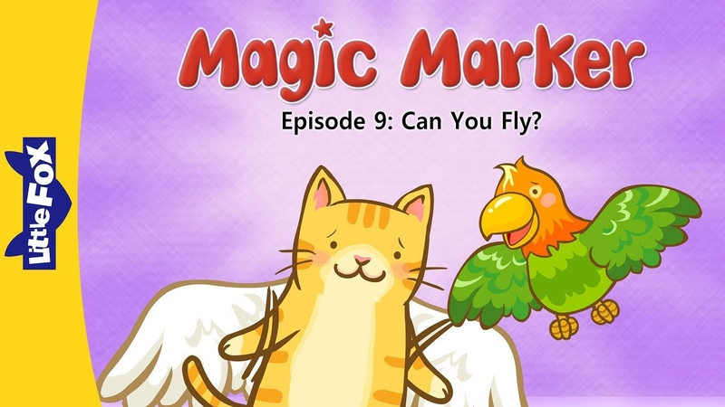 Magic Marker 9 | Can You Fly? | Fantasy | Little Fox | Animated Stories for Kids