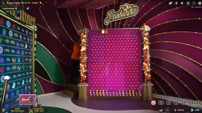 Casino Sarayi - CRAZY TİME I RULET I CRAZY BİTTİK ! SON BAKİYE İLE RULET VURGUNU 100 K !