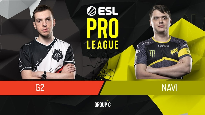 CSGO - Natus Vincere vs. G2 Esports [Train] Map 2 - Group C - ESL Pro League Season 9 Europe