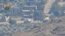 شاهد تدمير سيارة نقل عسكرية لعصابات الأسد