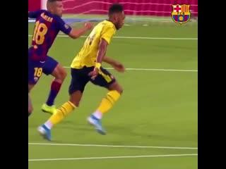Обамеянг VS Барселона
