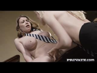 Anny Aurora, Alice Wayne - Naughty Schoolgirls Seduce Teacher [All Sex, Hardcore, Blowjob, Threesome]