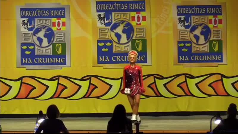 Джесс Хиндли танцует на мировом