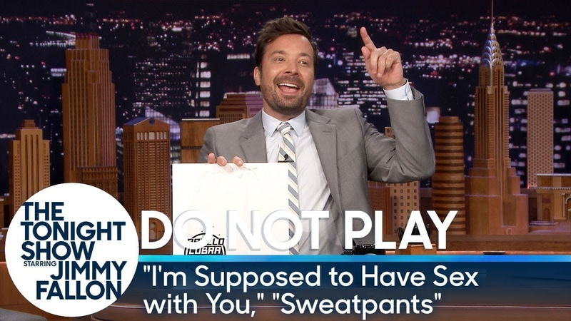 Do Not Play I'm Supposed to Have Sex with You Sweatpants