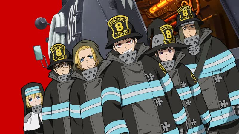 Пламенная бригада пожарных (1 часть)