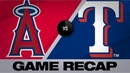 Heaney, Trout set career highs in 5-1 win Angels-Rangers Game Highlights 8/20/19
