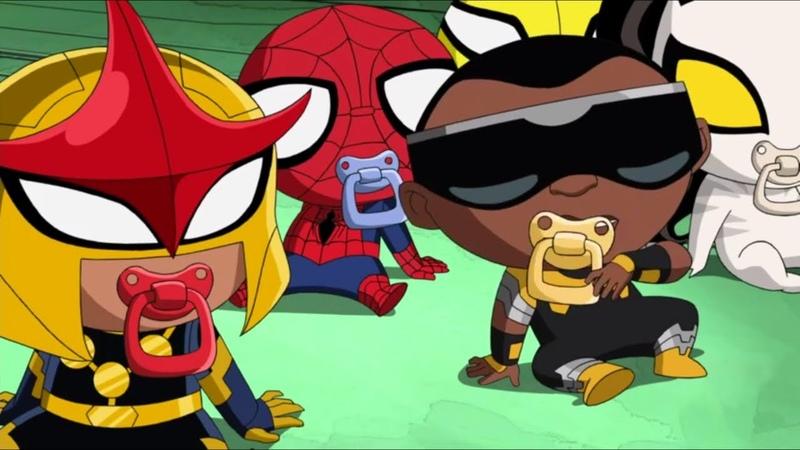 Великий Человек-паук - Кроха Человек-Паук - Сезон 2, Серия 12   Marvel